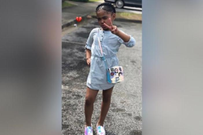 Secoriea Turner, 8, was fatally shot in Atlanta on July 4.
