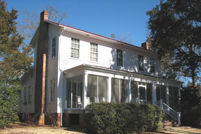 Andalusia is the home of Flannery O'Connor located in Milledgeville, GA.