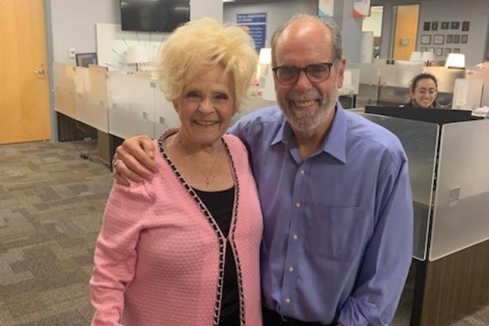 Bill Nigut and Brenda Lee