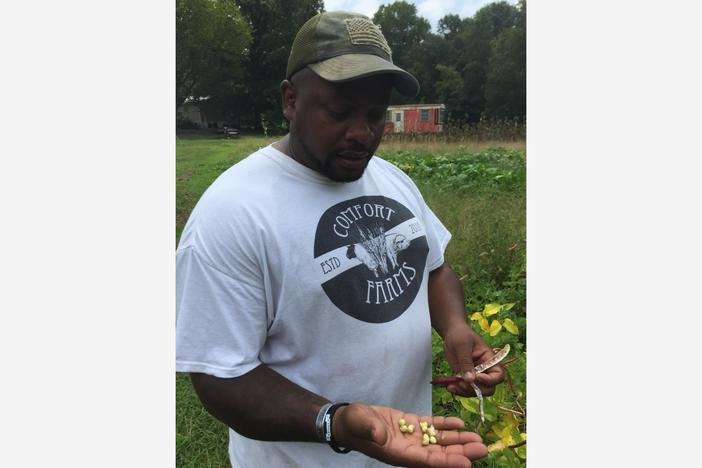 Jon Jackson has been using his farm to help veterans for years. More recently, he's launched a virtual farmers market to help families in need due to COVID-19.