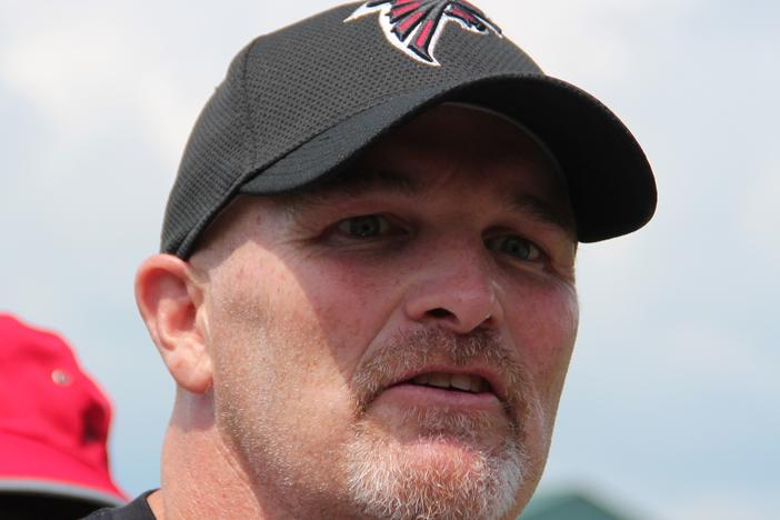 Atlanta Falcons Coach Dan Quinn, who has led the team since 2015, signed a three-year contract extension last year.
