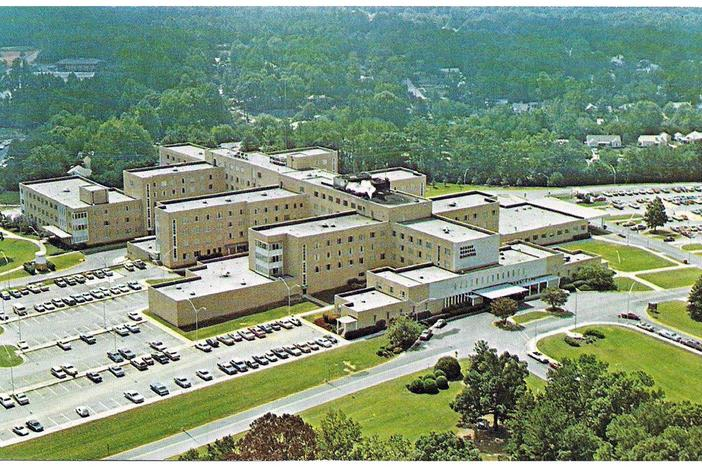 DeKalb General Hospital shortly after opening