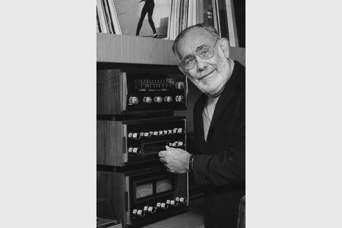 Jerry Wexler, record producer and mogul shown here on Oct. 17, 1979, has been a moving force in soul, jazz and rhythm and blues.