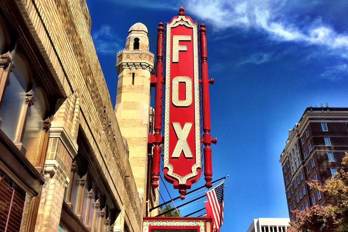 The entrance to the Fox Theatre in Atlanta