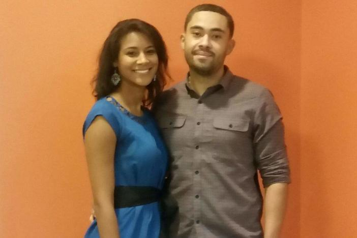 Jerica Richardson and Daniel Santos, co-founders of the Atlanta-based group, Hackout Ninja.