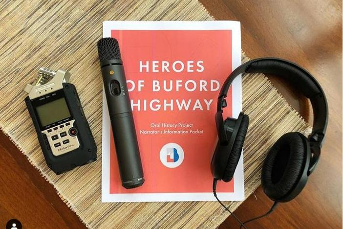 One of 'We Love BuHi's ongoing projects involves collecting oral histories from people who live and work along Buford Highway.