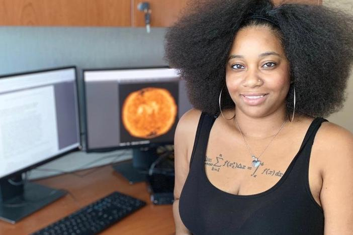 India Jackson received $8,510 from a GoFundMe campaign to help her attend a NASA internship in Houston, Texas.