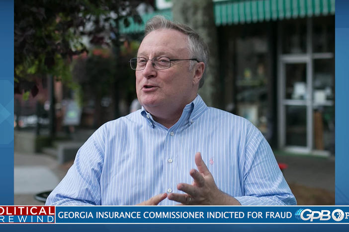 Jim Beck, the commissioner of the Georgia Insurance Department, has been indicted in fraud case.