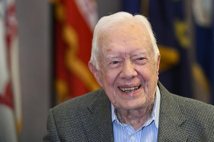 Former President Jimmy Carter was released from Emory Hospital Wendesday morning after undergoing brain surgery.