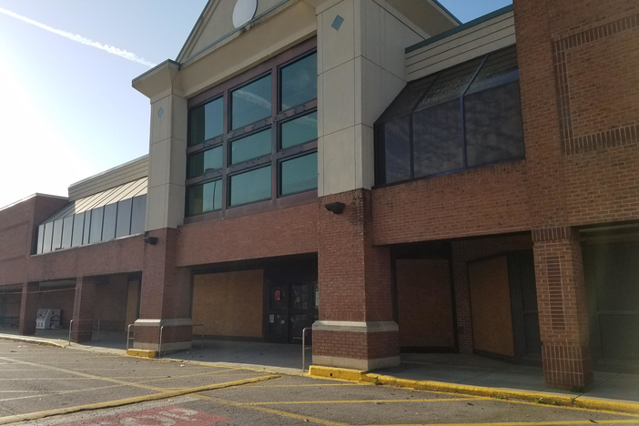 A former Kroger on Savannah's south side. Grocery chains like Kroger and Food Lion have closed stores in Savannah in recent years.