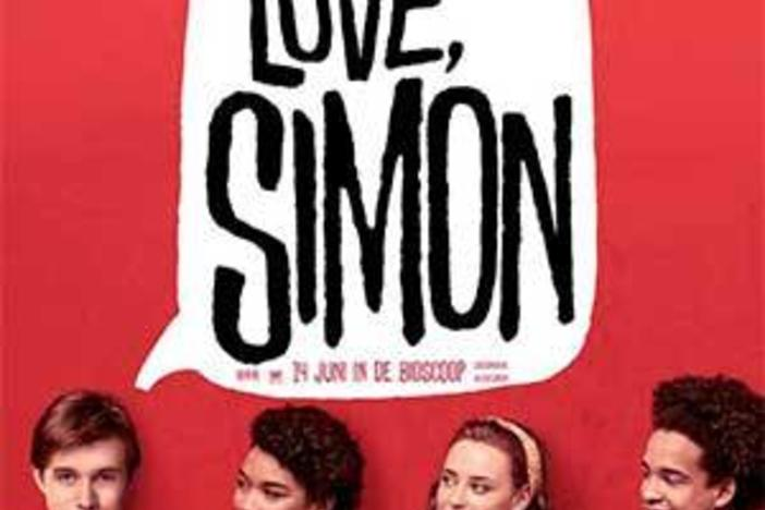 """Love, Simon"" is a teen romance about a gay high school student coming out and finding love."