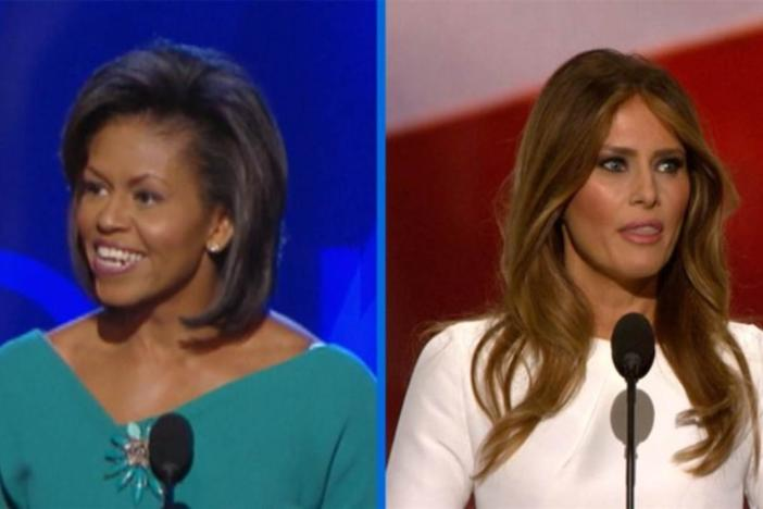 Melania Trump has come under heavy criticism after parts of her speech at the Republican National Convention mirrored a speech given by Michelle Obama at the 2008 Democratic National Convention.