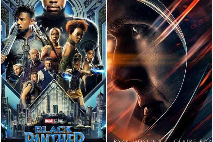 Black Panther and First Man, which were both filmed in Atlanta, will look to bring home awards during the 2019 Oscars on Sunday