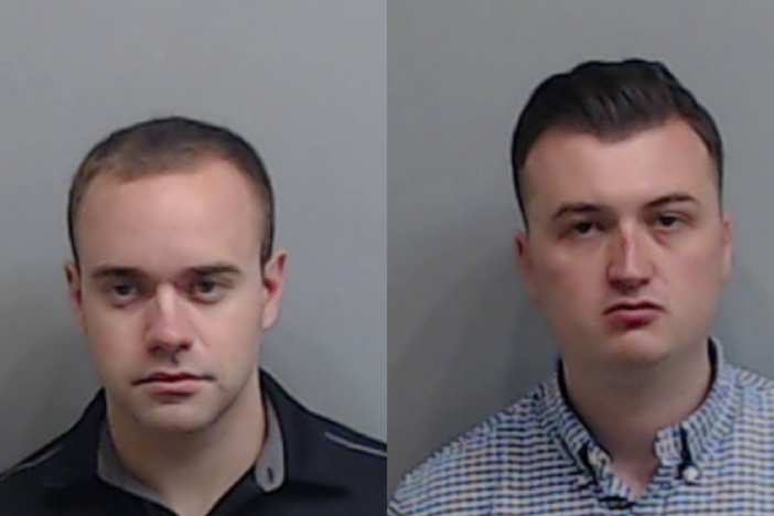 Former Atlanta Police Officer Garrett Rolfe and current Officer Devin Brosnan turned themselves in Thursday after arrest warrants were issued for their roles in the death of Rayshard Brooks.