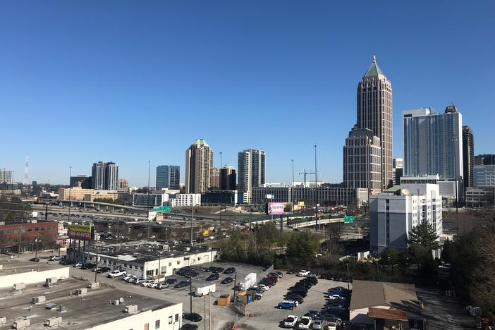 Fans can breath a sigh of relief as temperatures in Atlanta are rising. Sunday's high is 61 degrees.