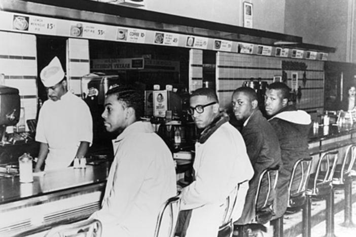 Feb. 1 marks the 60th anniversary of a watershed moment in the civil rights movement, when four black college students refused to move from a Woolworth's lunch counter in 1960.