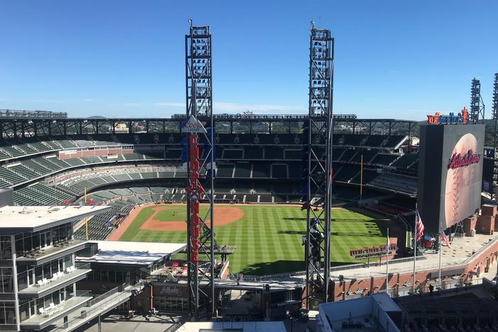 Major League Baseball announced Wednesday SunTrust Park and the Atlanta Braves will host the 2021 MLB All-Star Game.