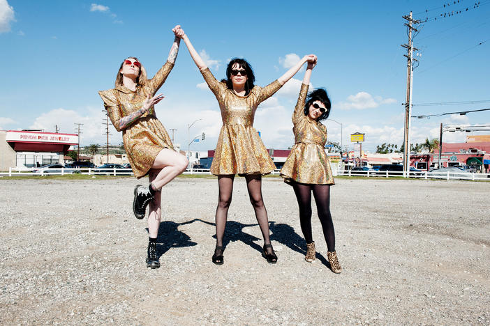 Atlanta locals The Coathangers will perform at this year's Music Midtown festival, Sunday at 1:00 p.m.
