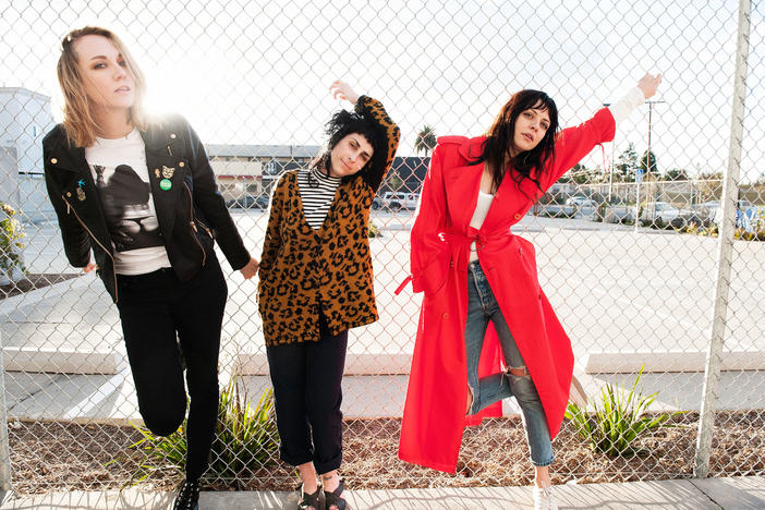 The Coathangers released a new album, called The Devil You Know, in March.