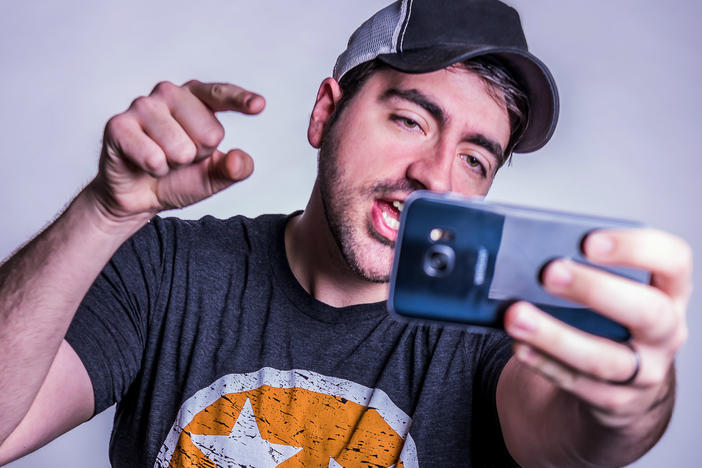 "Comedian Trae Crowder gained a following for his ""Liberal Redneck"" videos on YouTube."