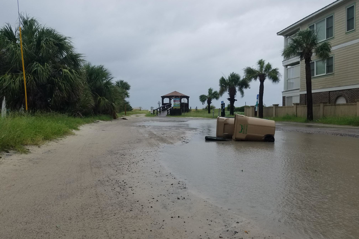 Despite high storm surge predictions due to Hurricane Dorian, Georgia's coast remained mostly unscathed.
