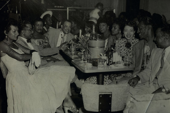 Nightlife at The Eldorado Ballroom in Houston's Third Ward, 1947.