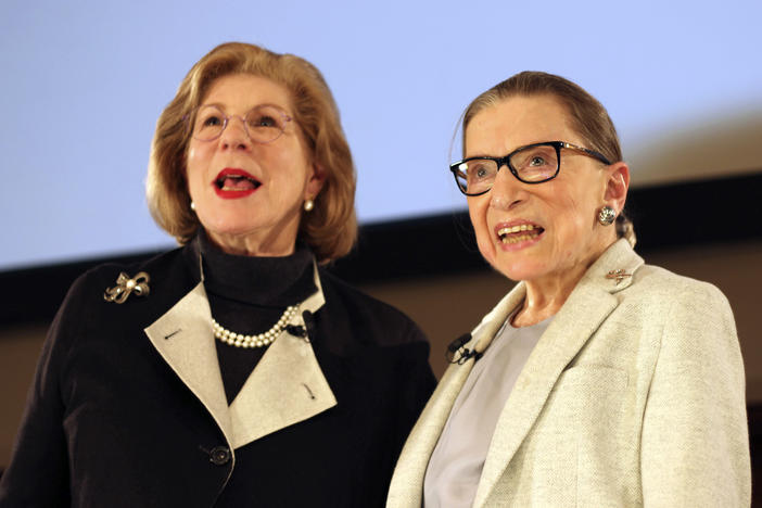 Over a 50-year friendship, NPR's Nina Totenberg and Supreme Court Justice Ruth Bader Ginsburg saw each other through illness and loss, with laughter and many family dinners.