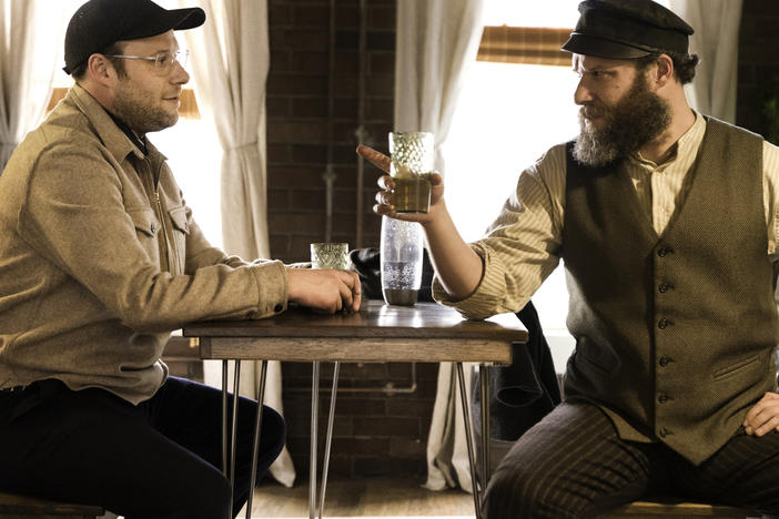 Seth Rogen stars alongside ... well, Seth Rogen, in the HBO Max movie <em>An American Pickle</em>.