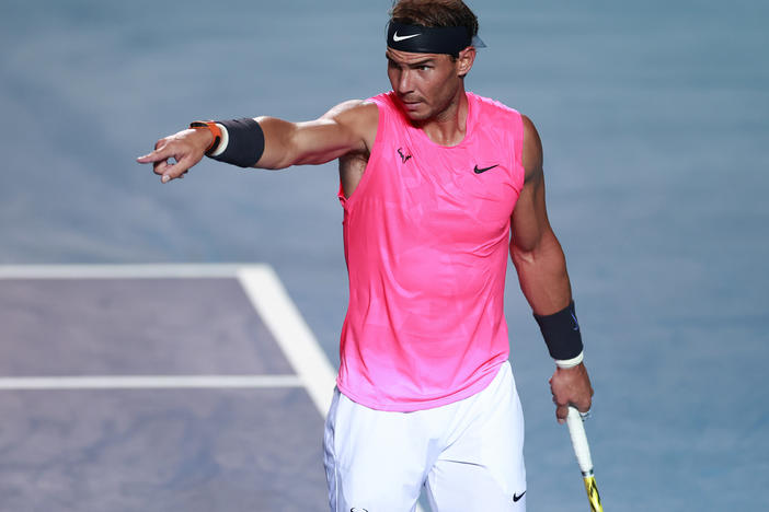 Rafael Nadal had hoped to win his 20th Grand Slam at this year's U.S. Open, which would have tied him for most men's wins in that category.