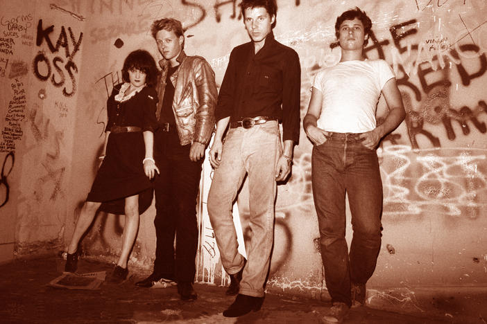 X in 1979, at The Masque, which was a small punk rock club in Hollywood, California. The venue was a key part of the early LA punk scene, and became home to bands like X, the Go-Go's, the Dickies, the Weirdos, the Dils, the Screamers and many more.