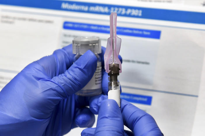 With development and testing underway, health officials are asking states to prepare for limited distribution of a potential vaccine as soon as this fall — though some experts say that's too early.