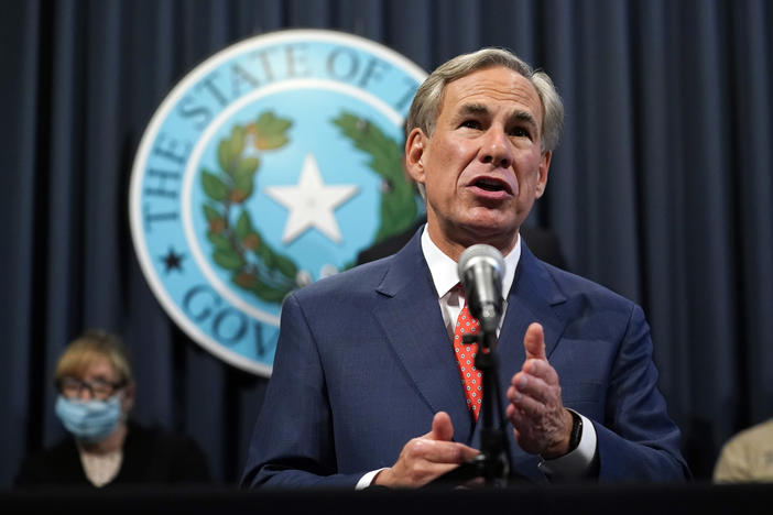 Texas Gov. Greg Abbott announced on Thursday that certain sectors in most of the state can expand their occupancy limits starting Monday. He also said that hospitals in those regions can now resume elective procedures and that eligible long-term care facilities can resume limited visitation next week.