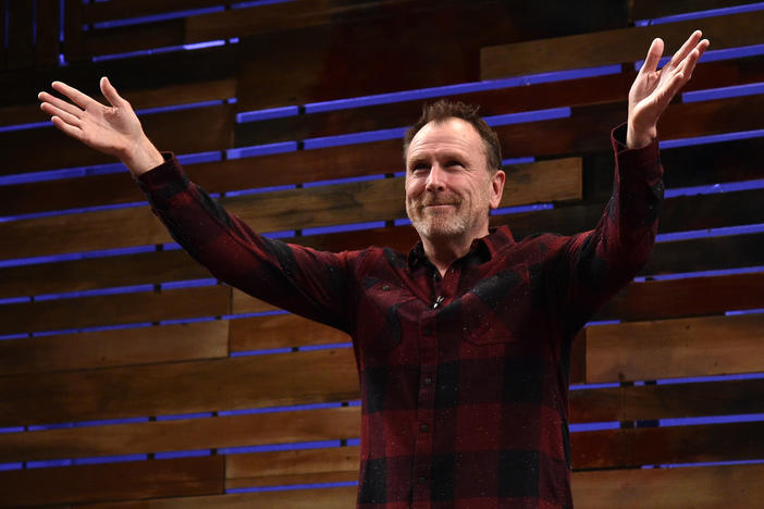 """I'm a comedian. I'm not here to be agreed with,"" says Colin Quinn. ""In fact, if you came up to me and said, 'You're not funny, but I agree with you,' I'd be offended because I'm here to make people laugh. ... It's much more powerful than somebody agreeing with you."""
