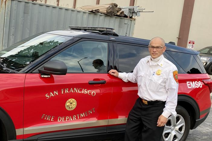 "Police are ""responding to nonviolent, noncriminal calls for service for people whose needs are largely social, behavioral or mental. And that's just not right,"" says San Francisco Fire Capt. Simon Pang, who's helping to spearhead efforts to create new mobile crisis teams for the city."