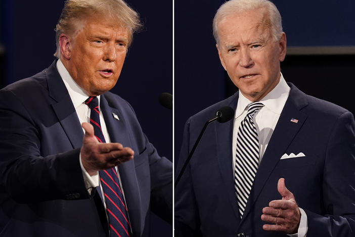 President Trump and former Vice President Joe Biden have widely divergent views on health care issues.