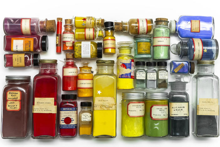 Looks like your spice rack on steroids? Nope. Although the colors <em>are </em>a feast for the eyes.