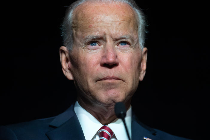 "When his wife and young daughter were killed in a car accident in 1972, Joe Biden struggled to acknowledge his grief publicly. ""He didn't want to become a symbol of human vulnerability,"" Evan Osnos says. ""But it was thrust upon him and he had to decide whether to embrace it."""