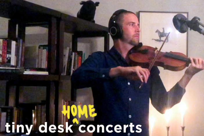 Owen Pallett performs a Tiny Desk (home) concert.