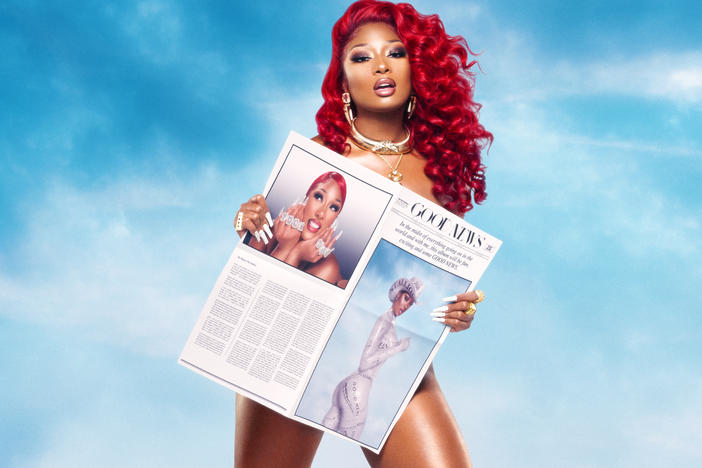 Megan Thee Stallion has released her debut album, <em>Good News</em>.
