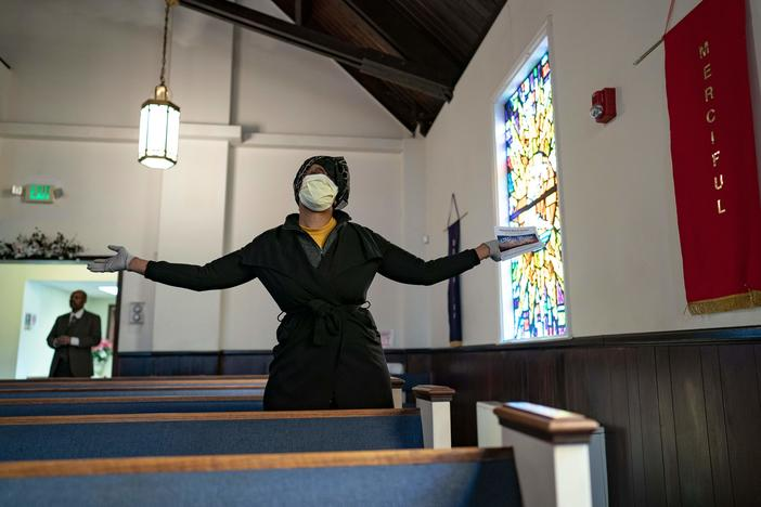 Some churches at the center of COVID-19 outbreaks have shunned attention or responded with defiance, while others have limited crowd sizes and encouraged congregants to wear masks and practice social distancing.
