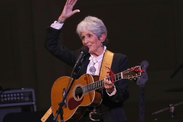 "Joan Baez performs ""Rexroth's Daughter"" during this hour-long Mountain Stage holiday special."