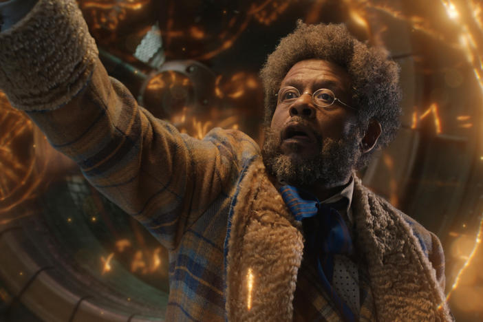 Forest Whitaker plays Jeronicus Jangle, the eccentric toy maker in David E. Talbert's new holiday musical on Netflix, <em>Jingle Jangle: A Christmas Journey</em>.
