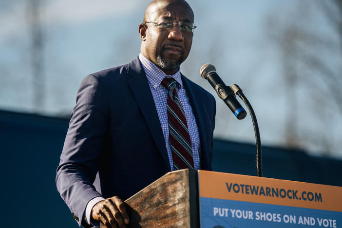 Raphael Warnock, the reverend at the historic Ebenezer Baptist Church in Atlanta, will become the first Black Democratic senator from the South.
