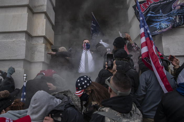 Pro-Trump extremists breached the U.S. Capitol on Wednesday. The insurrection was just the latest chapter in America's ongoing battle over race, writes NPR host Sam Sanders.