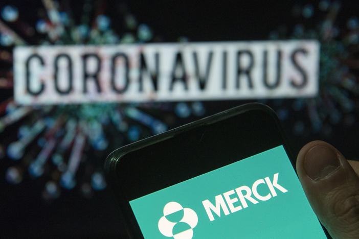 Pharmaceutical company Merck says it is shelving its two COVID-19 vaccine candidates, saying that the results of clinical trials fell short of its goals.