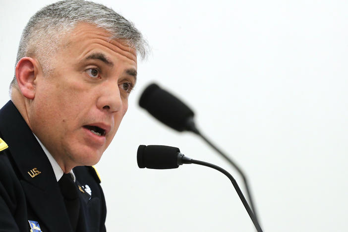 "Gen. Paul Nakasone, the National Security Agency director, told NPR ahead of the 2020 elections that the U.S. was ""going to expand our insights of our adversaries. ... We're going to know our adversaries better than they know themselves."""