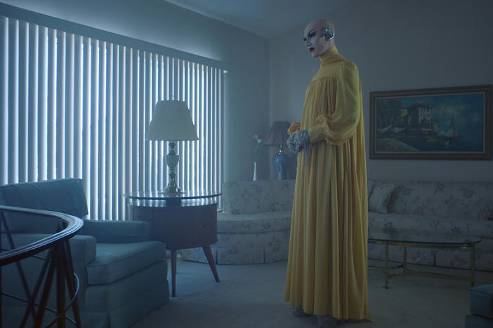 Sasha Velour stars in <em>The Island We Made</em>, an opera composed by Angélica Negrón and filmed in a mid-century Staten Island house.
