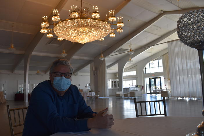Paul DeLorenzo is general manager at Danversport, an event venue featuring a 10,000-square-foot ballroom with a 900-person capacity. He thought 2020 was going to be their best year ever until the pandemic forced him to close. DeLorenzo is hopeful capacity limits will increase soon.