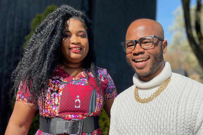 Salomé Chimuku and Cameron Whitten co-founded the Black Resilience Fund in Portland, Ore. They've raised more than $2 million in the last year to help Black Portlanders.
