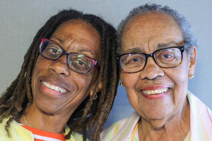 "Mary Mills and her mother, Joyce Carter Mills, came to StoryCorps in February 2020 to talk about Mary's childhood. ""You were the mom every other kid wanted,"" Mary told Joyce."